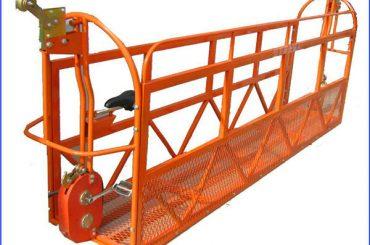 6m 1.5kw 630kg obojene skele radne platforme aluminijum sa čeličnom žicom 8.3mm