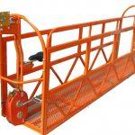 1000 kg 7,5 mx 3 sekcije aluminijska legura suspendovana radna platforma zlp1000