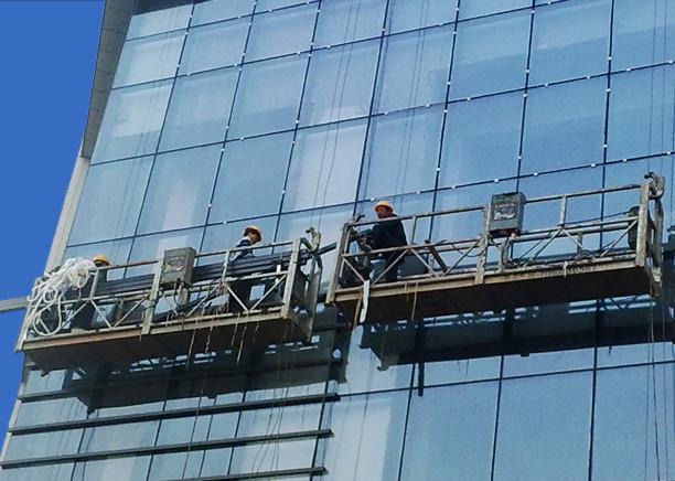 100m - 300m Suspendirane pristupne platforme 220v Za visoko podizanje građevinske slike