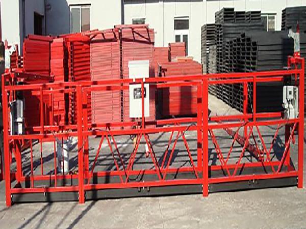 Čišćenje zgrada Radna platforma Zlp800 sa 800kg nominalnog opterećenja