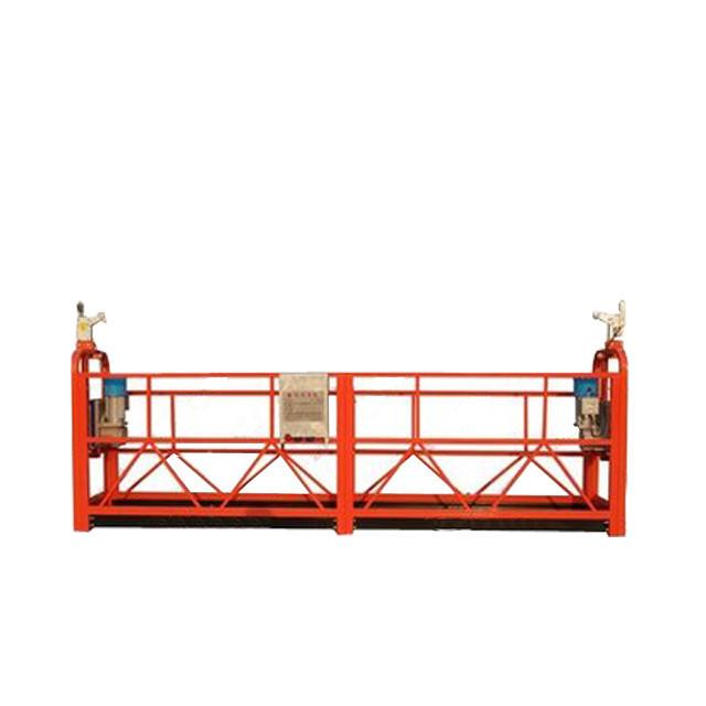 Prilagođena aluminijumska legirana radna platforma ZLP800 Za dekoraciju zgrada