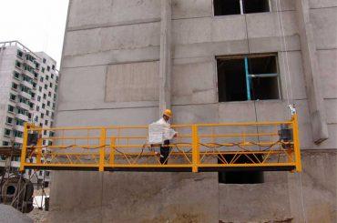 7,5m prilagođene platforme za dizanje od 800 kg za čišćenje zgrada, pin-tip
