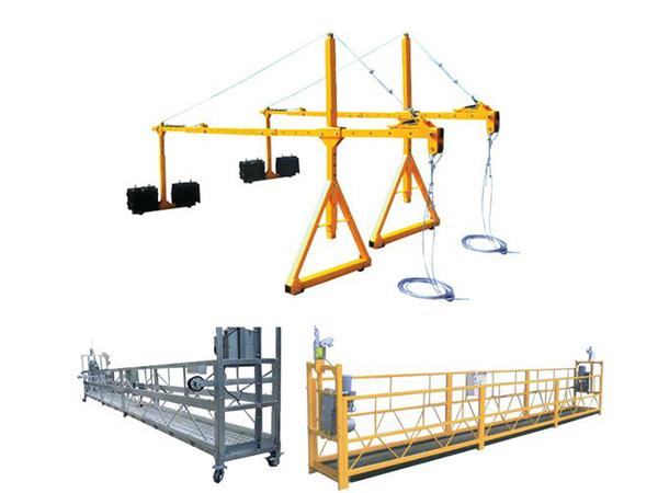 Vruća prodaja Haoke Suspended Steel pogodna platforma za pristup ZLP630, ZLP800, ZLP1000