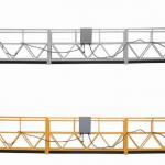 vruća prodaja aluminijumska suspendovana platforma / suspendovana gondola / suspendovana kolevka / suspendovana faza zamaha sa oblikom e