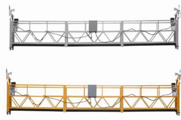 Vruća prodaja Aluminijumska platforma suspended suspended / suspended gondola / suspended cradle / suspended swing stage with form E