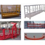 800 kg lakirana / vruće pocinkovana / suspendovana oprema za pristup zlp800 od aluminijske legure
