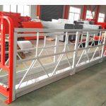 2 sekcije 500kg suspendovana radna platforma sa 3 vrste kontra tegova