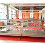 zlp630 aluminium viseća platforma (ce iso gost) / oprema za čišćenje prozora visoke visine / privremena gondola / kolevka / kretanje stepen vruće