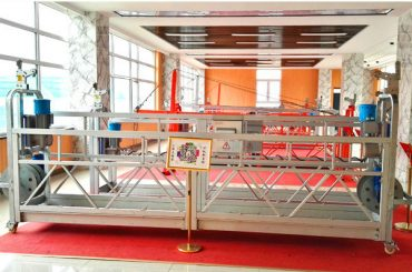 ZLP630 aluminijumska viseća platforma (CE ISO GOST) / oprema za čišćenje prozora sa visokim porastom / privremena gondola / kolevka / postrojenje za ljuljanje vruće