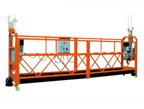 2.5M x 3 Sekcije 1000kg Suspended Access Platform Brzina podizanja 8-10 m / min