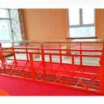 čelične platforme za suspendovanu 7.5m 1.8kw 800kg održavanje zgrada