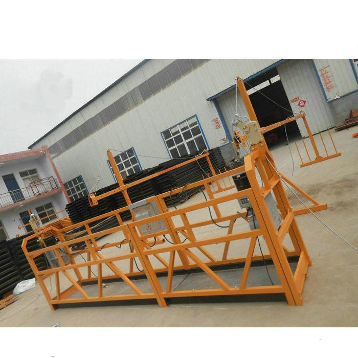 Pouzdana ZLP630 Radna platforma za čišćenje čelične vješalice za građevinarstvo