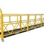 prilagođena zlp1000 suspendovana platforma pristupa za održavanje postolja sa čeličnim konopcem 8,6mm