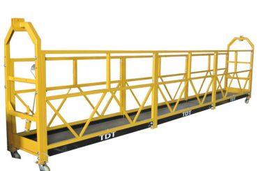 čelik / vruće pocinkovani / aluminijumska legura viseća platforma 1.5kw 380v 50hz