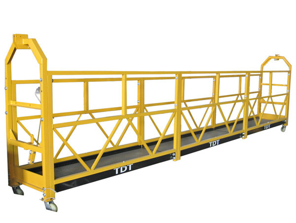 Čelik / vruće pocinkovani / Aluminijski legure Viseća platforma 1.5KW 380V 50HZ