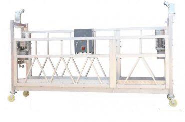 380v / 220v / 415v platforma za čišćenje prozora visoke efikasnosti zlp800 jednofazna