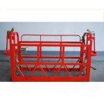 800kg lakirane / aluminijumske viseće platforme za pristup motorima 1.8kw platforme skele