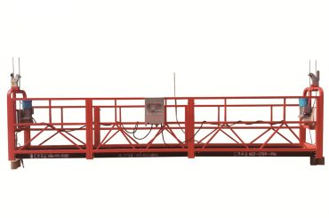 čelična / vruće pocinkovana privremena suspendovana platforma, zlp500 podnožje za održavanje