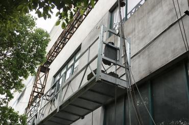 zlp1000 2.5m * 3 2.2kw 8kn suspendovani pristupni nosači sa električnim upravljačkim sistemom