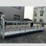 podesiva aluminijska legura obložena platformom zlp 800 za obnavljanje / bojenje