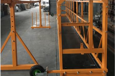 čišćenje prozora spuštena radna platforma sigurnost zlp 630 sa dizalicom ltd6.3