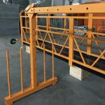 Jednofazna platforma sa savitljivim užetom 800 kg 1.8 kw, brzina podizanja 8 -10 m / min