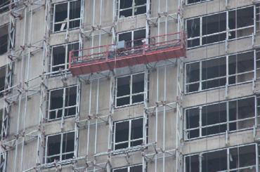 zlp serija obložena radna platforma lagana legura aluminijske legure električna