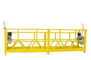 čelična / aluminijumska platforma za podizanje platforme, oprema za suspendovanu opremu od 630kg