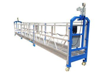 sigurnosni užad / kablovski čelični viseći radna platforma zlp800 sa dizalicom ltd8.0
